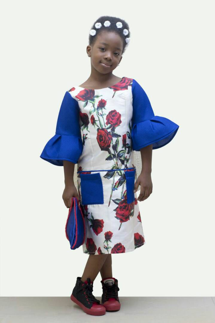African Inspired Female And Male Children Clothes